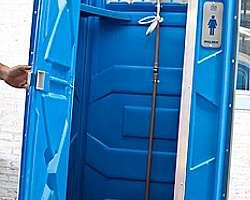 Locadora de banheiro químico