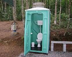 Banheiro vip para eventos