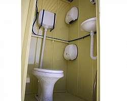 Banheiro para canteiro de obras