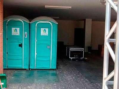 Fábrica de banheiro químico