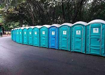 Aluguel de banheiros móveis