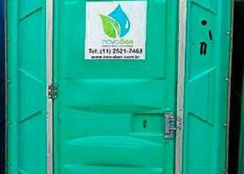 Banheiro químico para obra valor