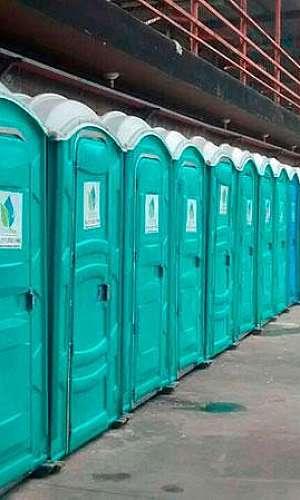 Banheiros químicos para eventos