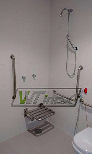 Barra de Apoio Aço Inox para Banheiro Preço