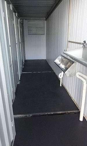 Container com banheiro