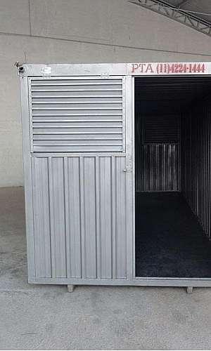 Container para obra preço