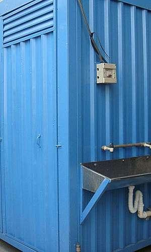 Container sanitário
