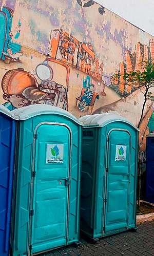 Locação de banheiro