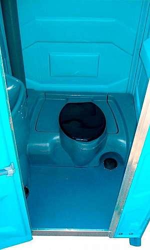 Locação de banheiros de luxo