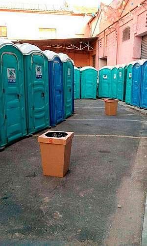 Sanitários portáteis