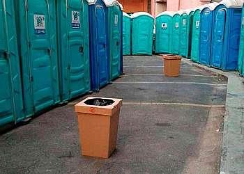 Sanitários portáteis para alugar